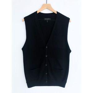 Rag & Bone Sweater Vest   XL   100% Merino Wool